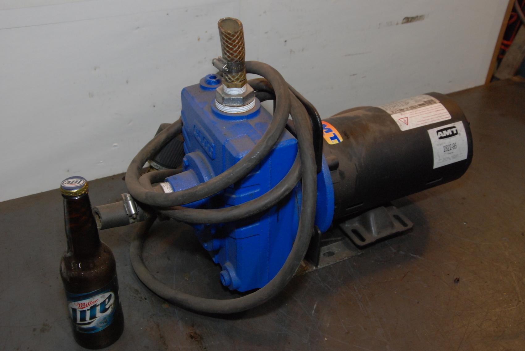 AMT Water Pump,Model AMT-1627-016,1.5 hp 3 PH,208-230/460V