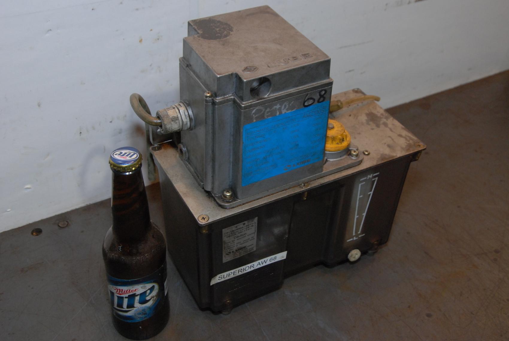 Lube Corp.Automatic Lubricator,AMZ100S,100V,50/60HZ