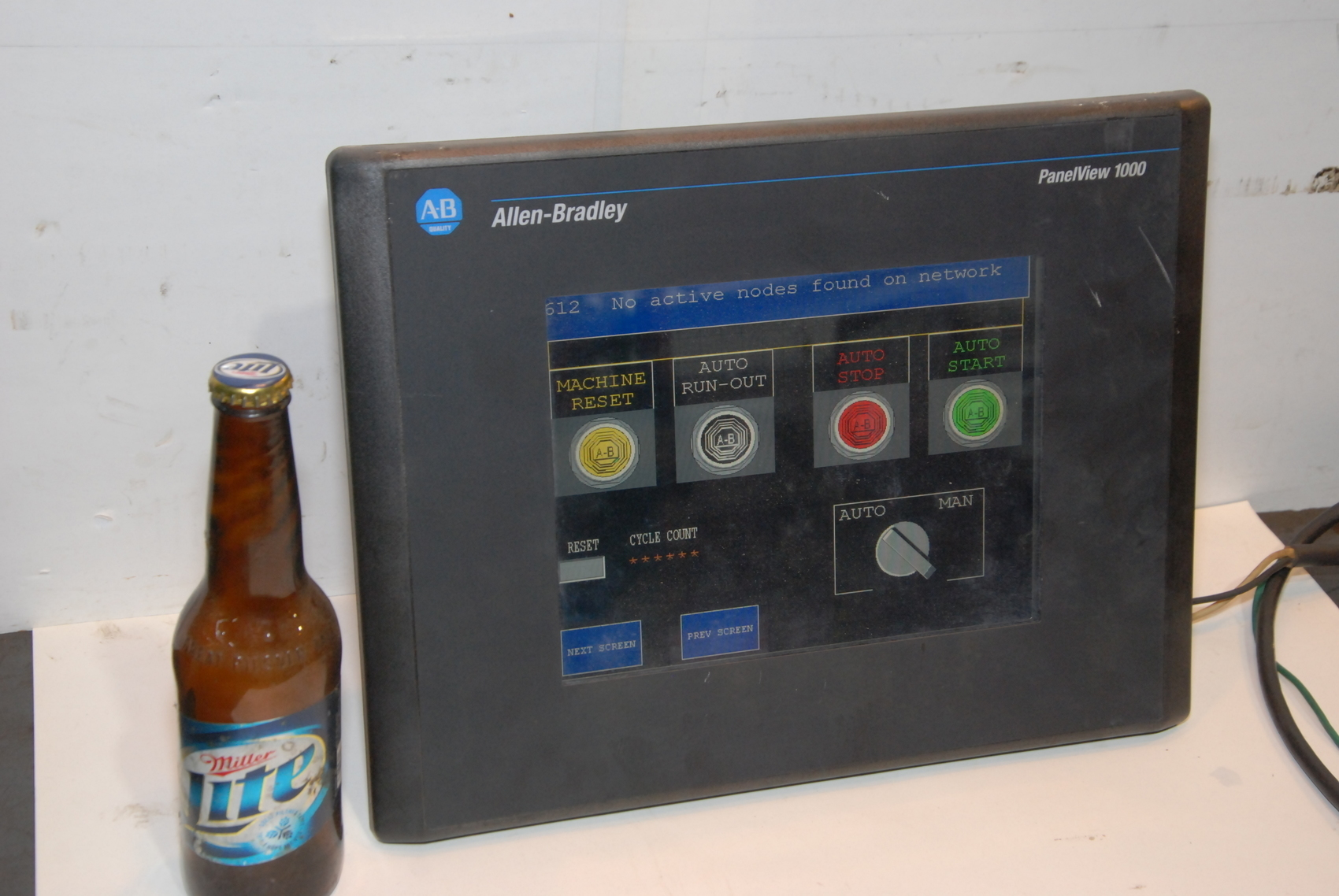 Allen-Bradley 2711-T10C9 PanelView 1000 Color Touch Screen monitor