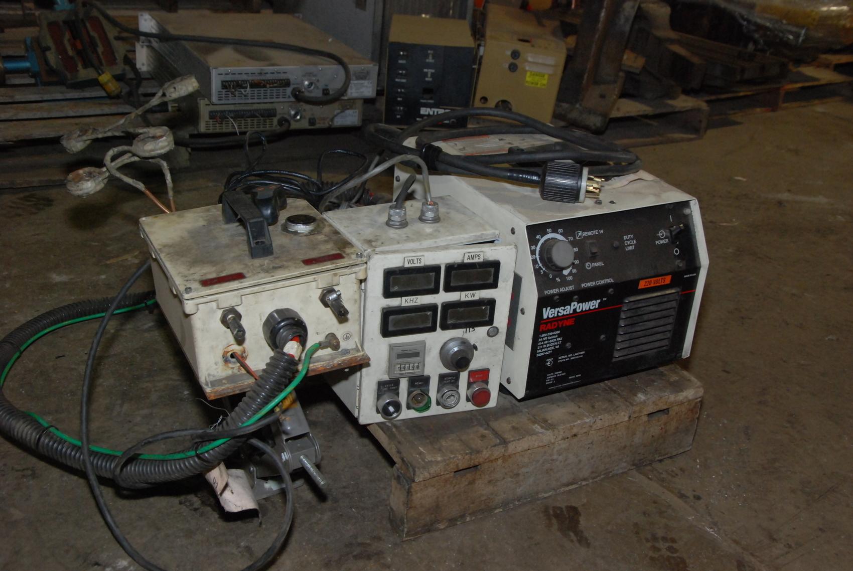 Radyne Model Versa Power 6.3 kW Induction Heater,3 PHASE,230/460V