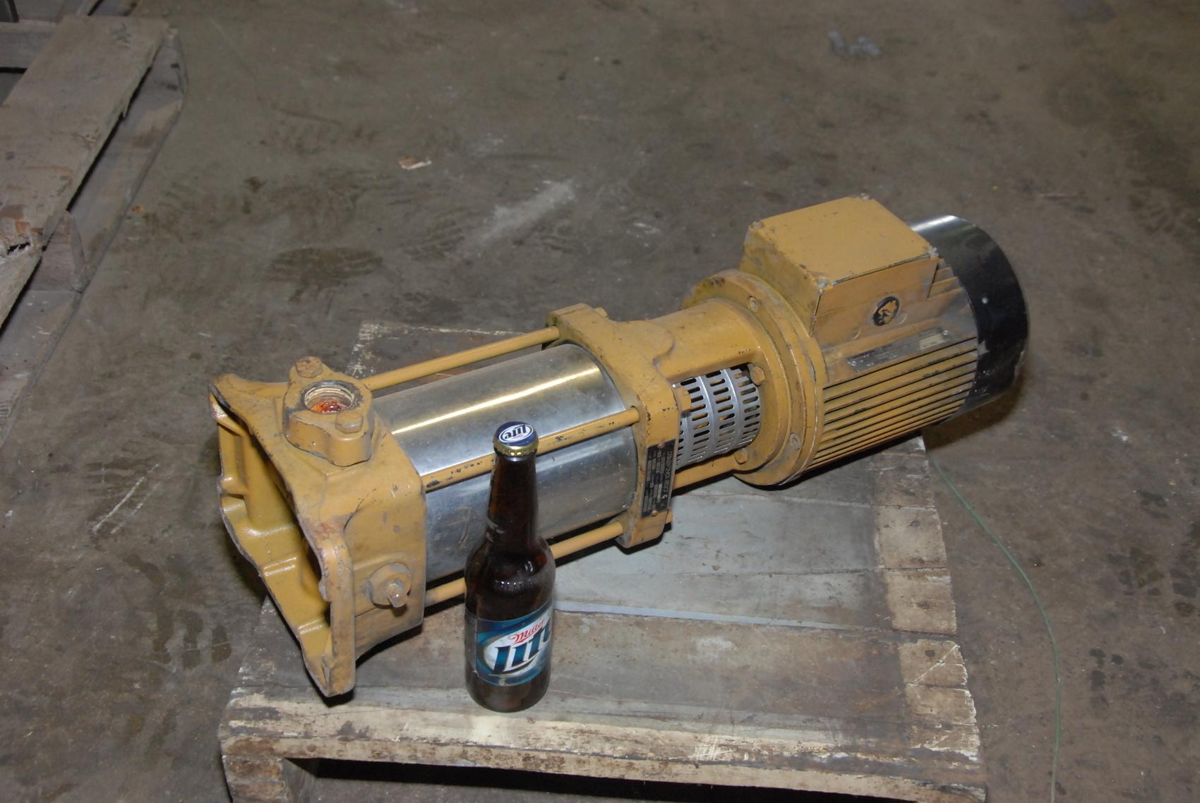 GRUNDFOS MG 90LA2-24F115 CR2-110A CENTRIFUGAL PUMP