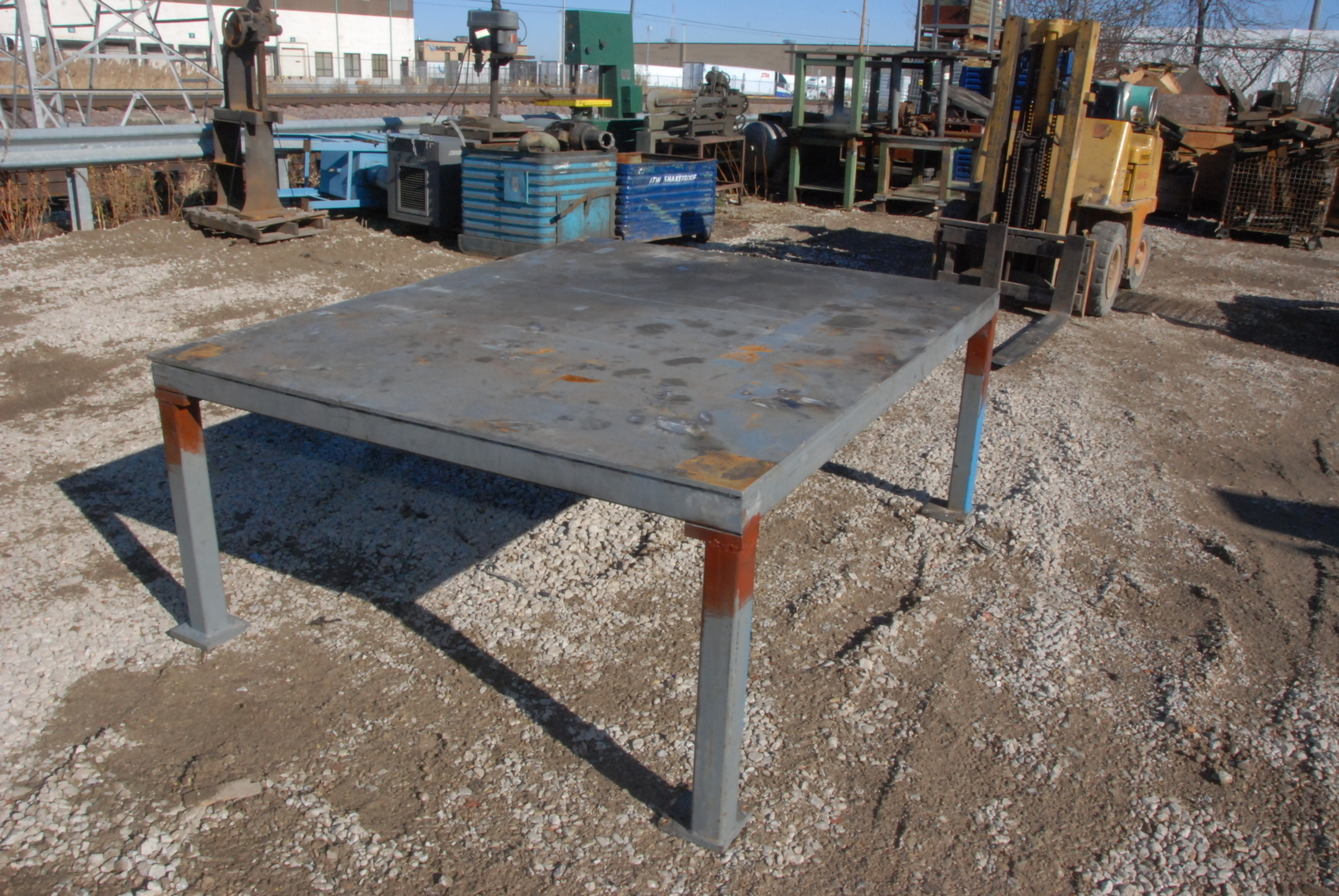 """HUGE!Welding Table 78*64*32,3/8""""thick"""