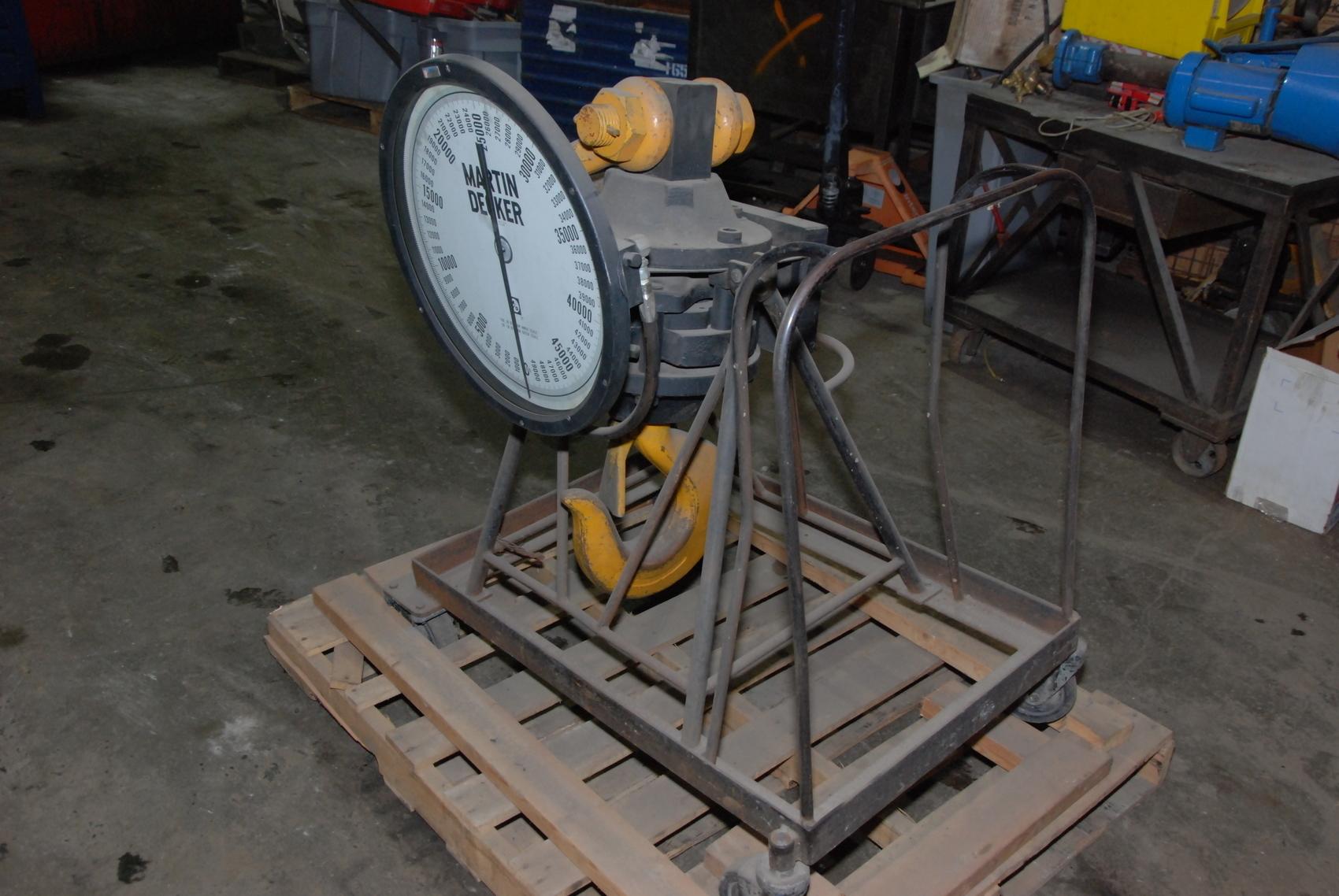 Martin Decker Crane Scale SU180-0500-2 SENSATER 50,000 lbs 50000