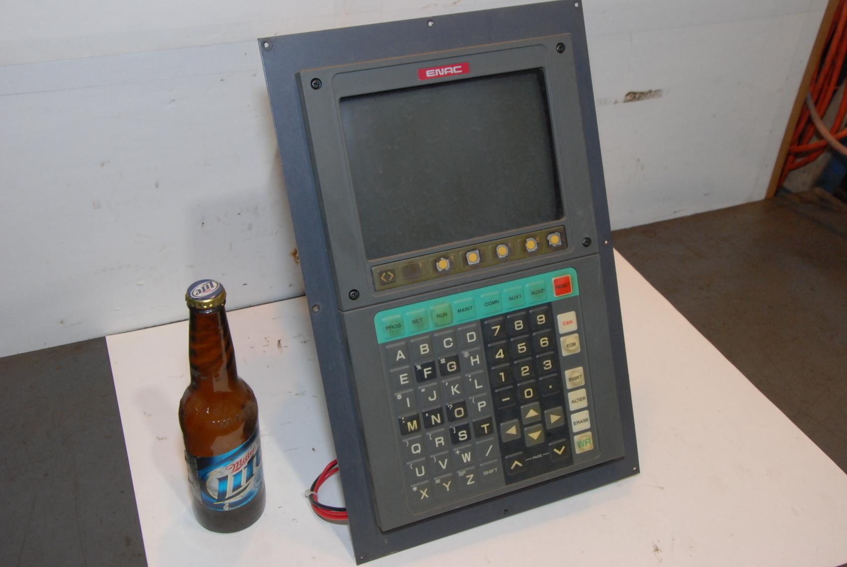 ENAC JZNC-IOP32E1 TOSHIBA CONTROL MONITOR