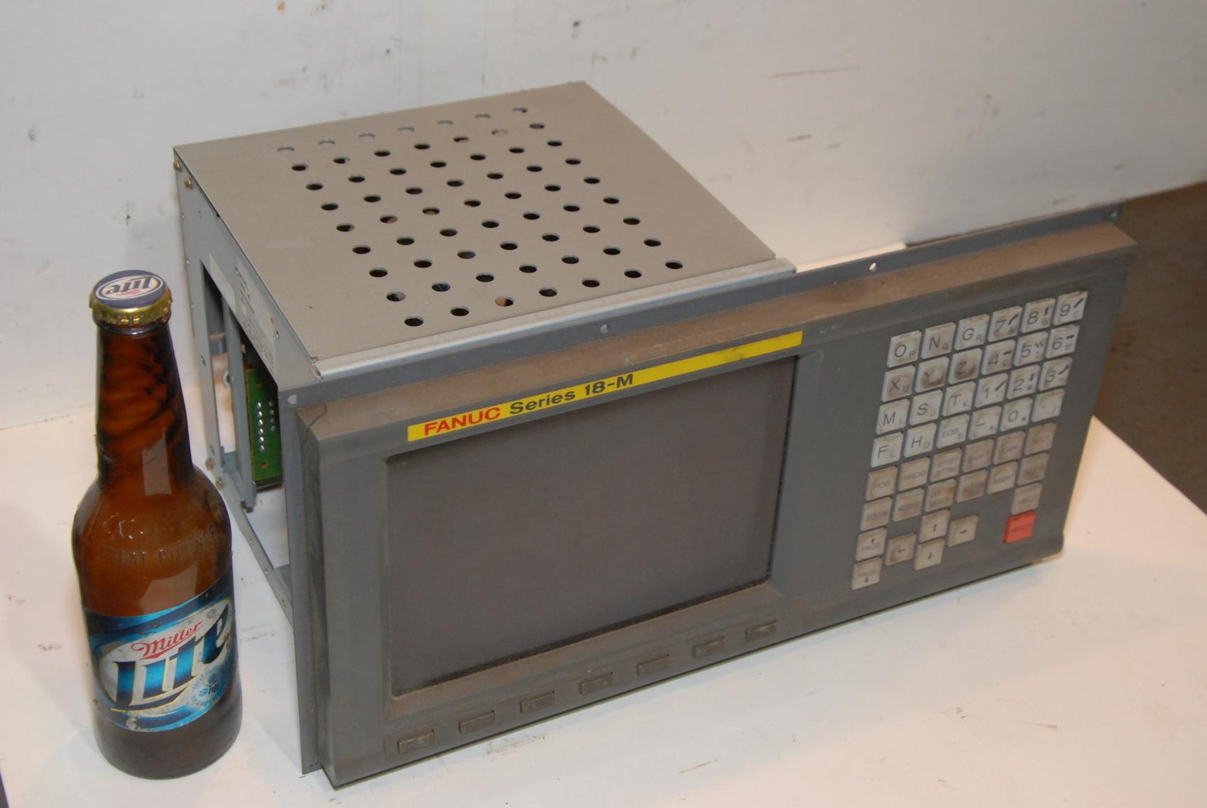 Fanuc A02B-0120-C041/MA 9in Crt/mdi Operator Interface Unit