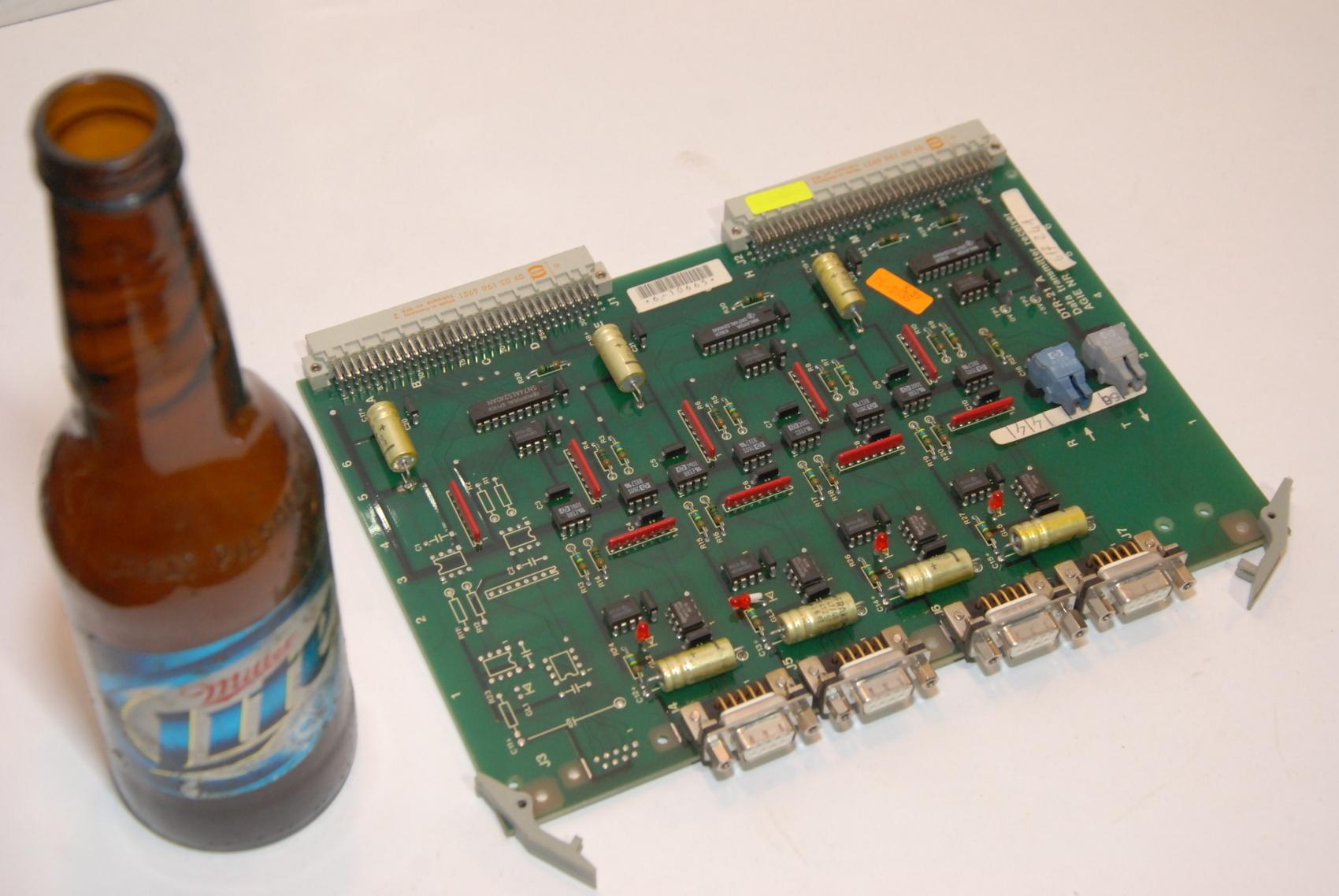 AGIE AgieCut EDM DTR-21A,DTR21A 631534.5 CIRCUIT BOARD