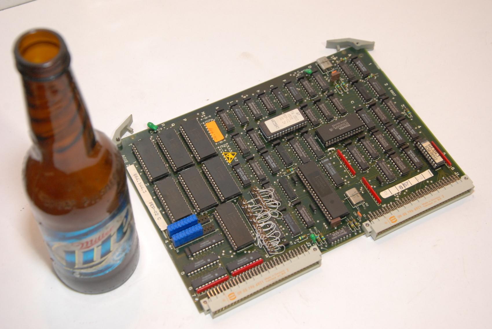 AGIE AgieCut EDM PEP-02A,PEP02A 625514.5 CIRCUIT BOARD