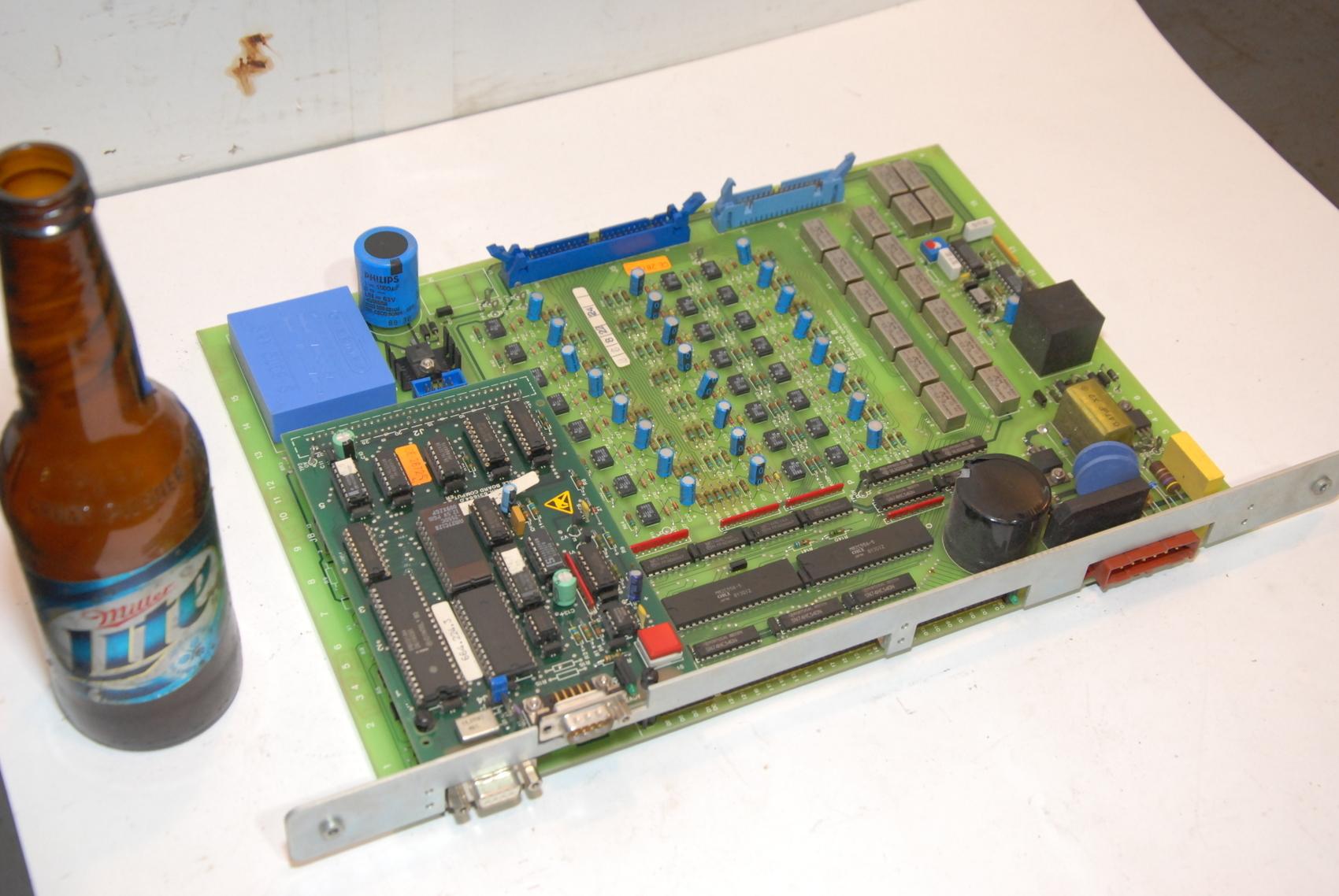 AGIE AgieCut EDM PEC-02B,PEC02B 630013.1 CIRCUIT BOARD