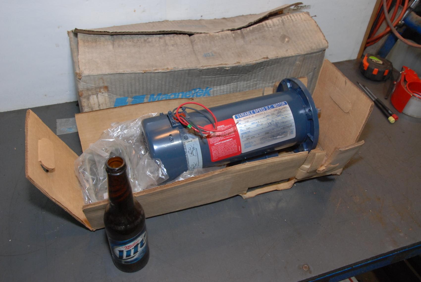 NEW Boston Gear PM975ATF-I DC Gear Motor 3/4 HP