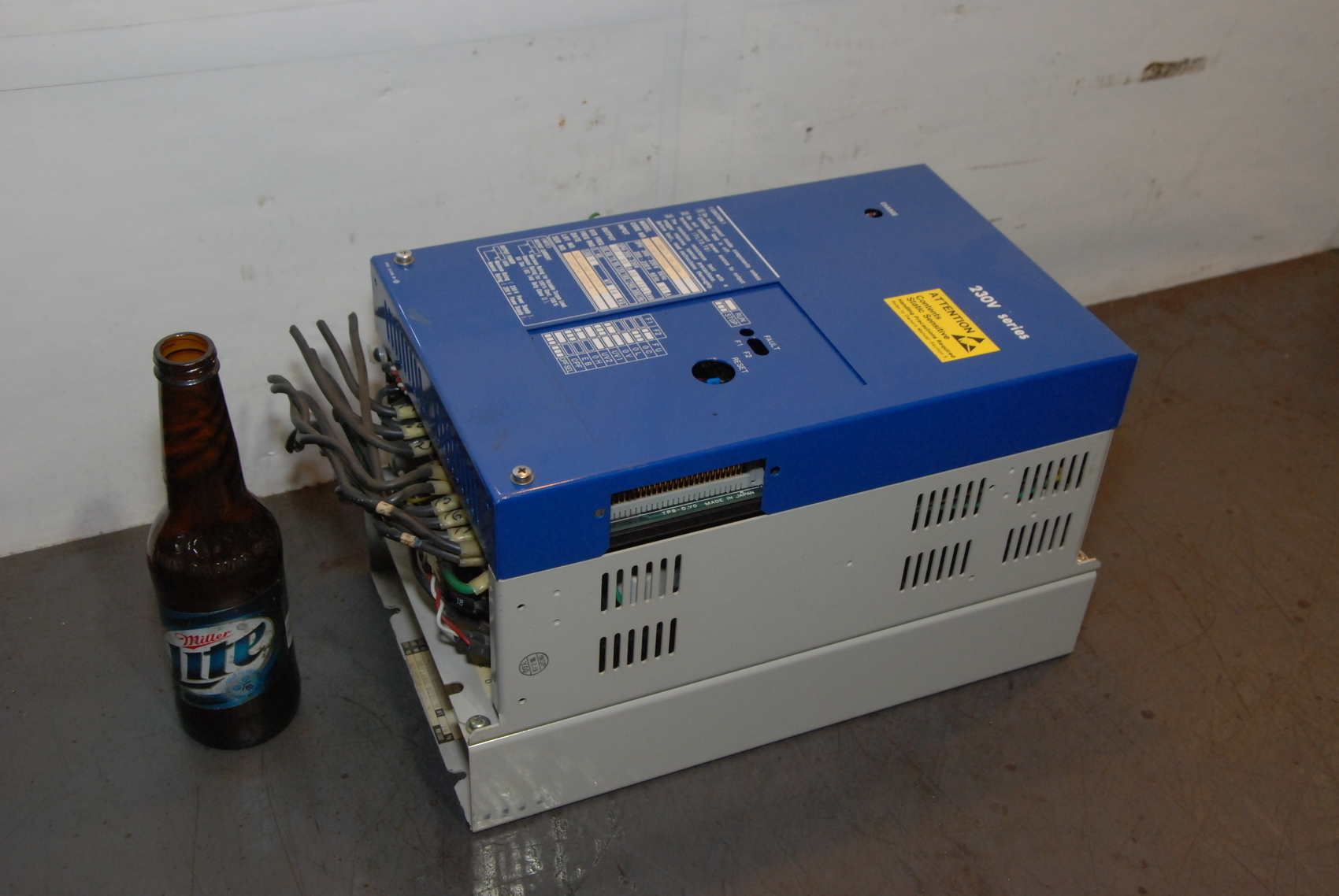 Yaskawa/Hurco CIMR-7.5B.D06 Spindle Drive Unit,230V