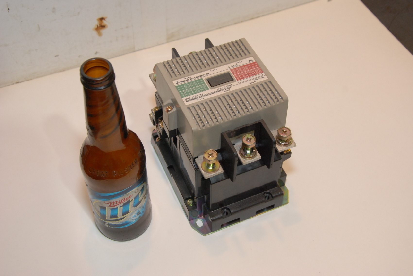 Mitsubishi S-K150 Magnetic Contactor 150 Amp