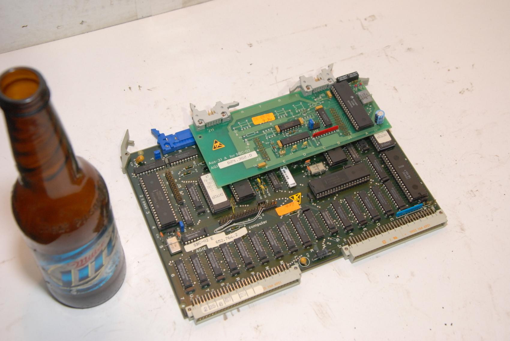 AGIE SBC-02A2,SBC02A2 629574.5 CIRCUIT BOARD