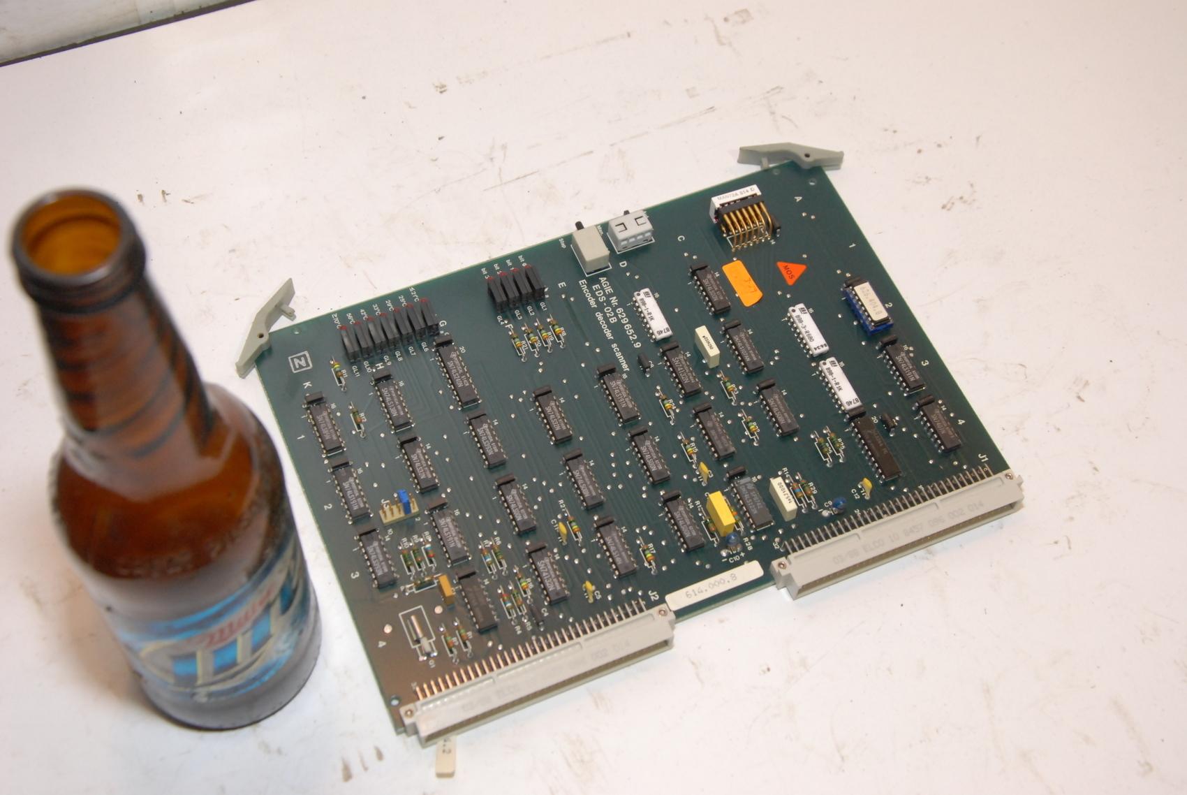 AGIE AgieCut EDM EDS-02B,EDS02B 629652.9 CIRCUIT BOARD