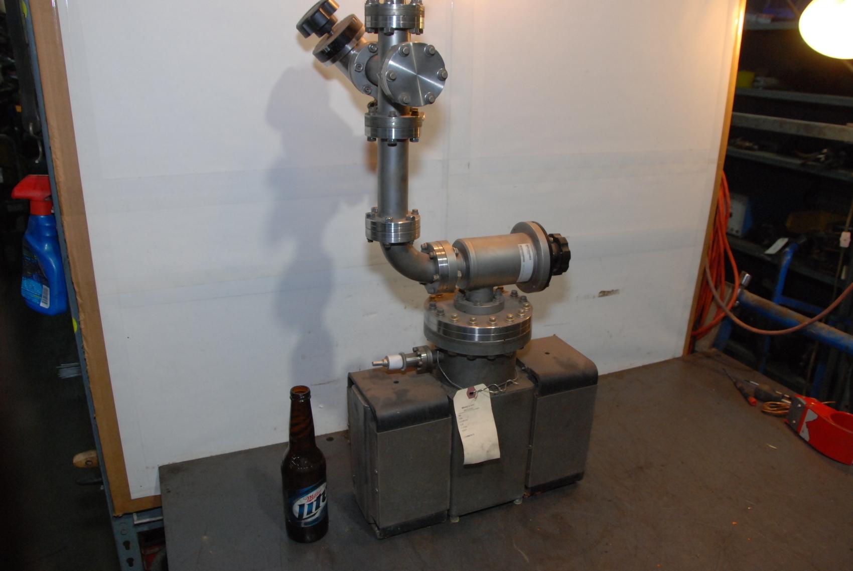"""Varian Triode Ion pump 6.00""""CFF w/Magnet,60 l/sec,RVA-060-TR-M"""