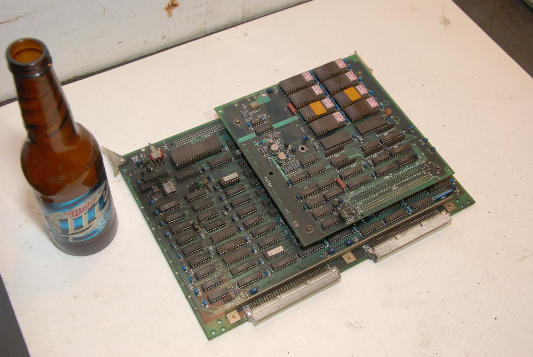Mitsubishi FX15B FX25A Combination CNC Circuit Board