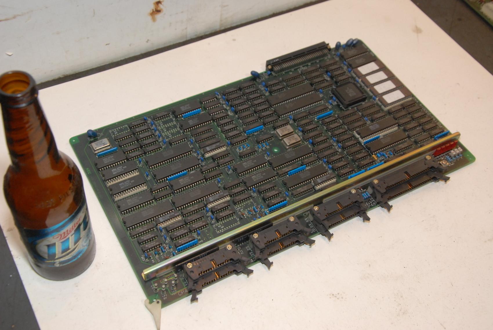 NEC EIP2 193-230074 VAS AAE CNC CONTROL TG6042 BOARD