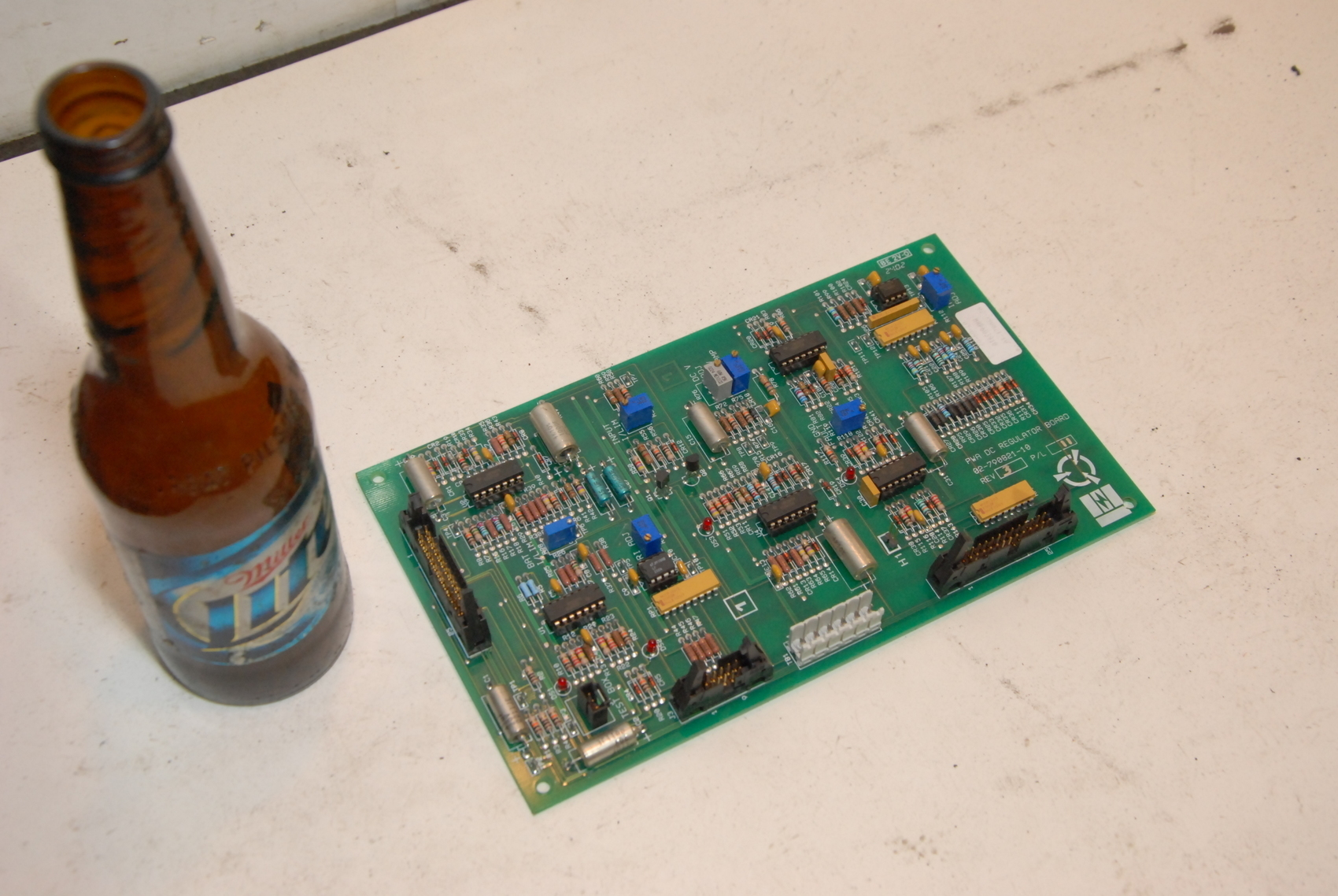 Emerson Liebert 02-790821-10 DC Regulator Circuit Board Rev 3