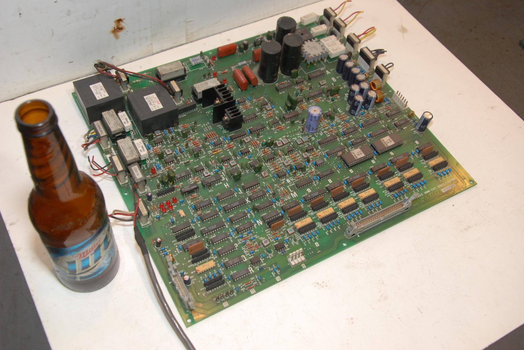 MITSUBISHI 68E2.121766 NWW-CNT BOARD