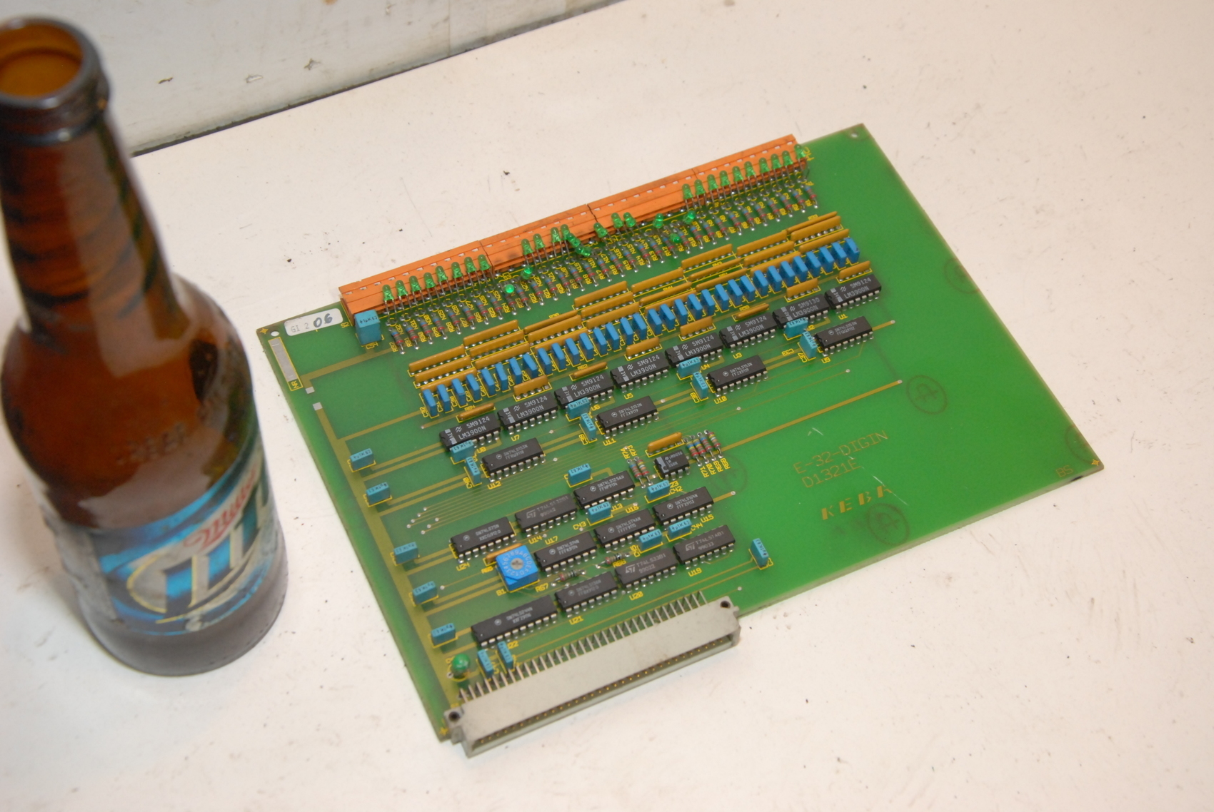 Keba E-32 D1321E Dig In Circuit Board.