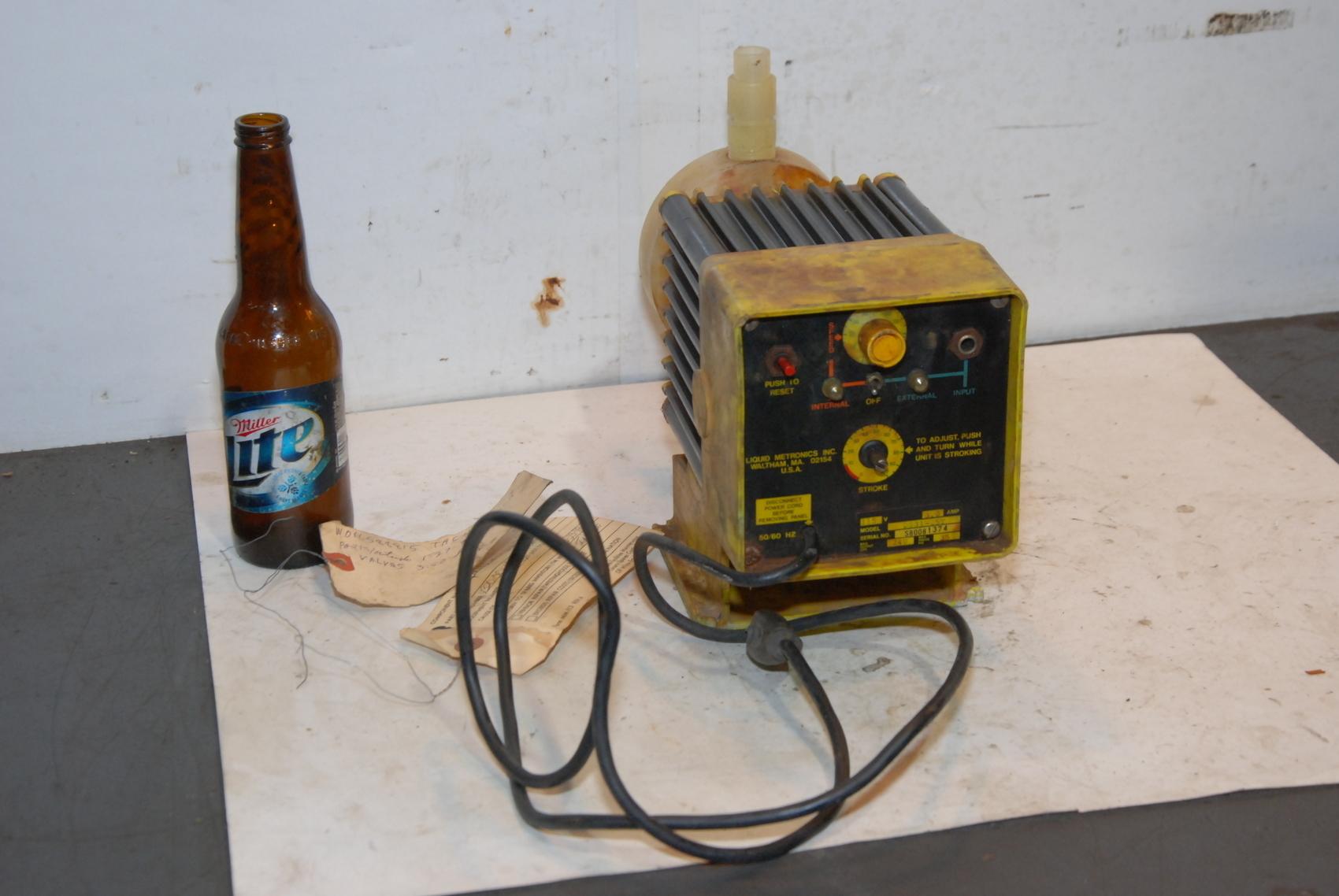 LMI Liquid Metronics Inc.D531-25T Metering Pump dosing