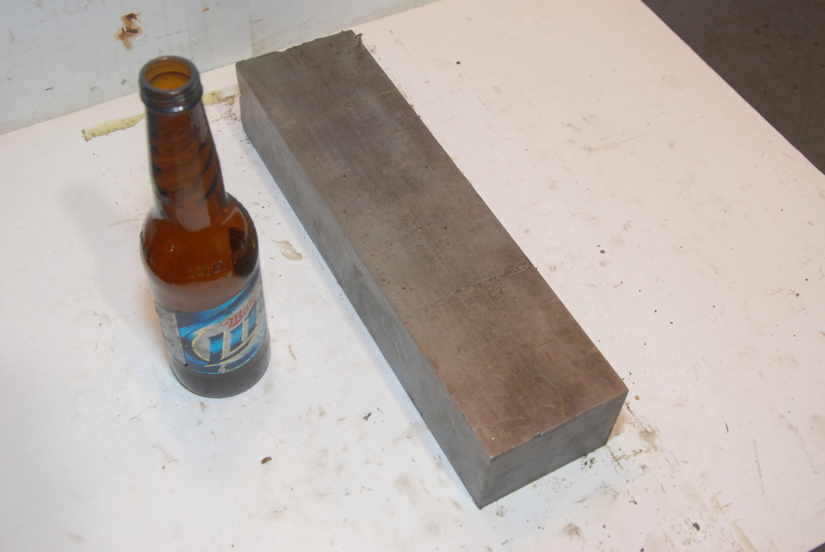 Steel Rectangular Bar for blacksmith anvil,13*3.5*2 3/8,32lbs