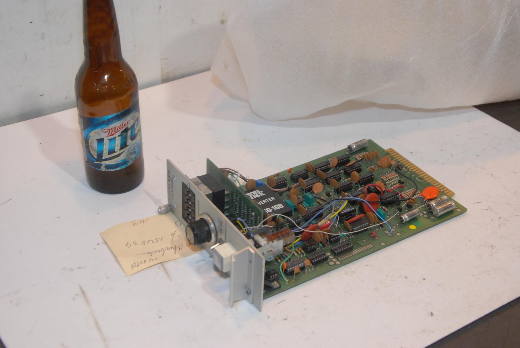 TINIUS OLSEN Model 4103-378A Digital Rate Control Unit
