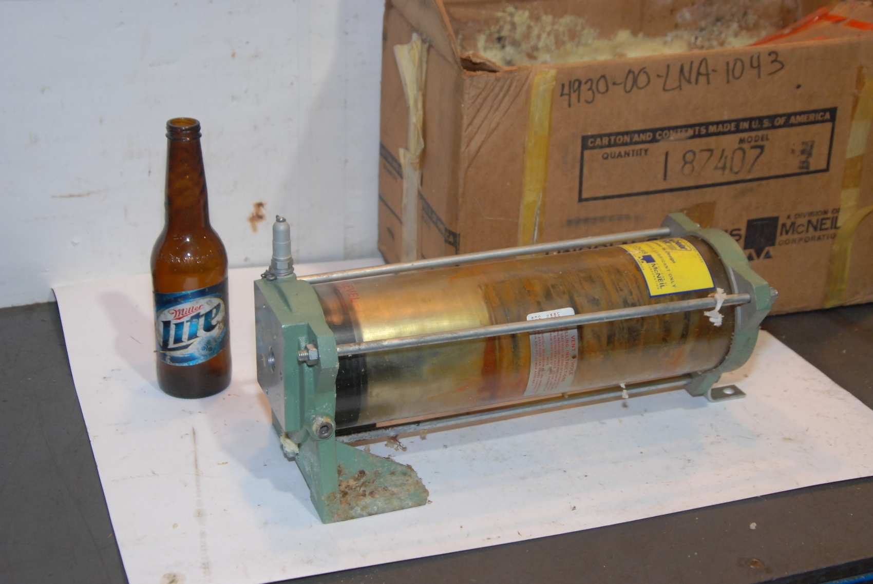 NEW LINCOLN ST LOUIS RESERVOIR GREASE MODEL 87407