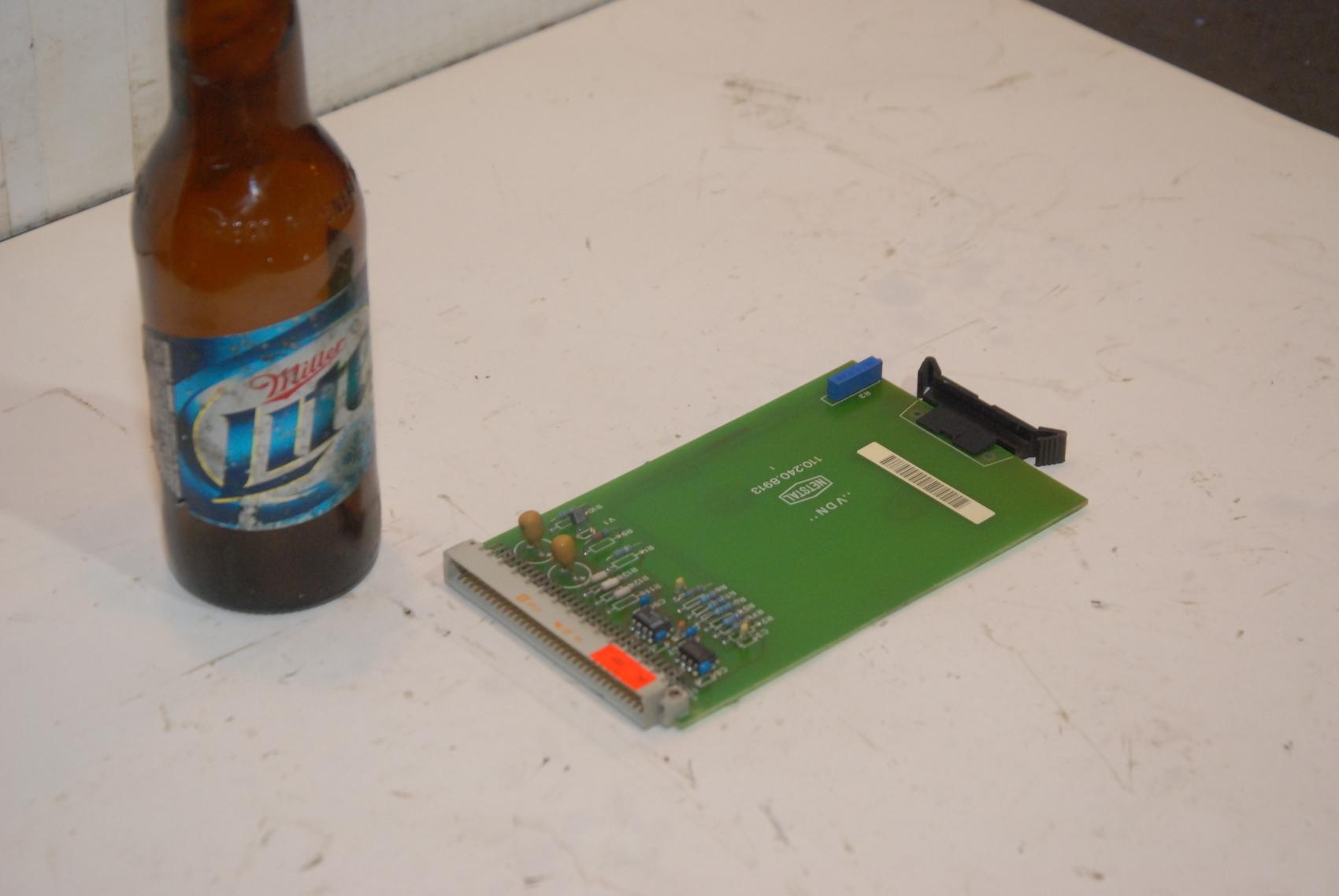 Netstal TVC 110.240.8913 Lotseite Circuit Board