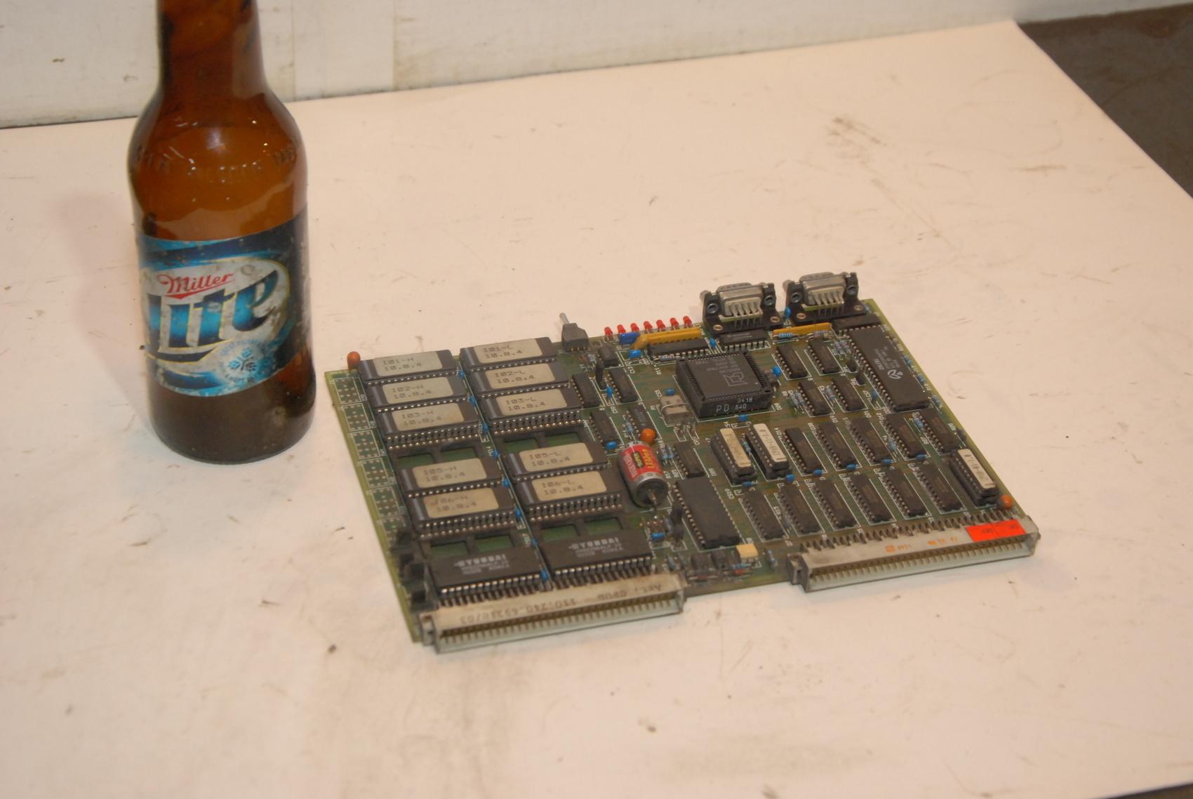 Netstal 110.240.6921c/03 Lotseite Circuit Board