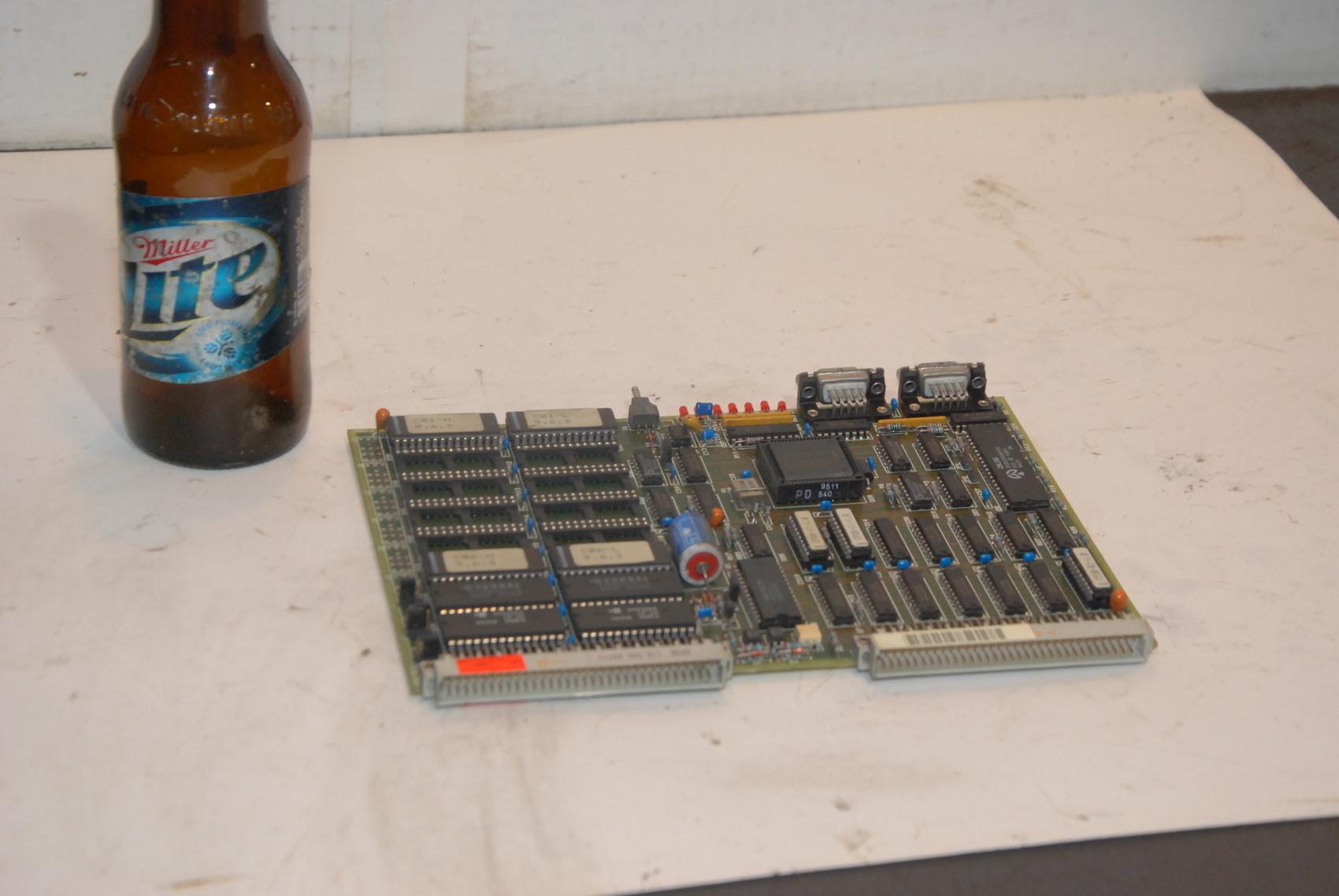 Netstal 110.240.6921c Lotseite Circuit Board