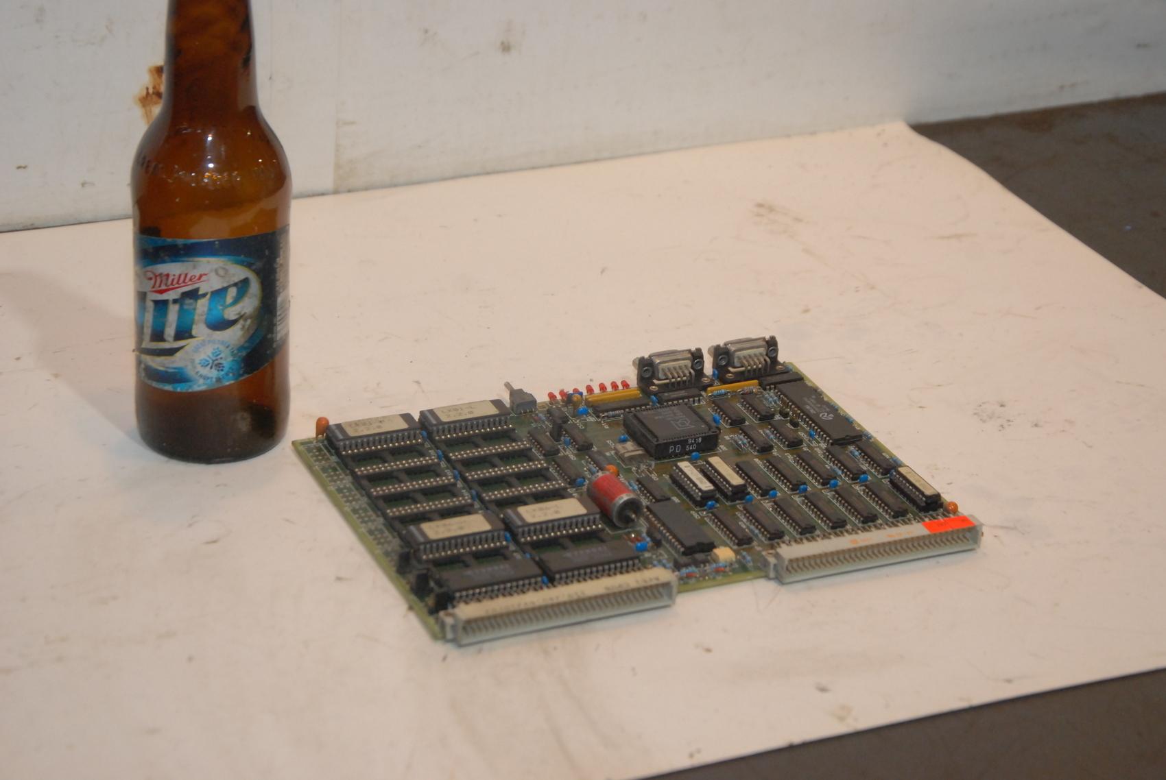 Netstal 110.240.6921c/02 Lotseite Circuit Board
