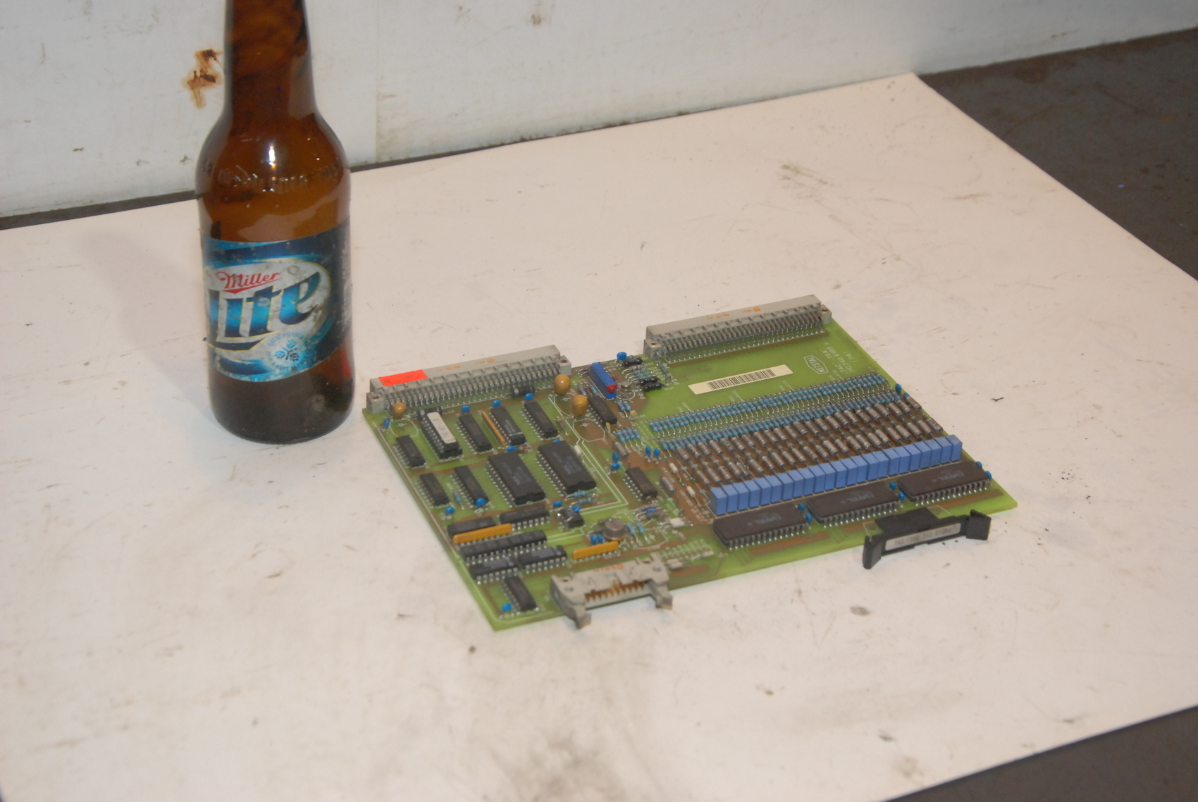 Netstal 110.240.6185a(p8)Lotseite Circuit Board