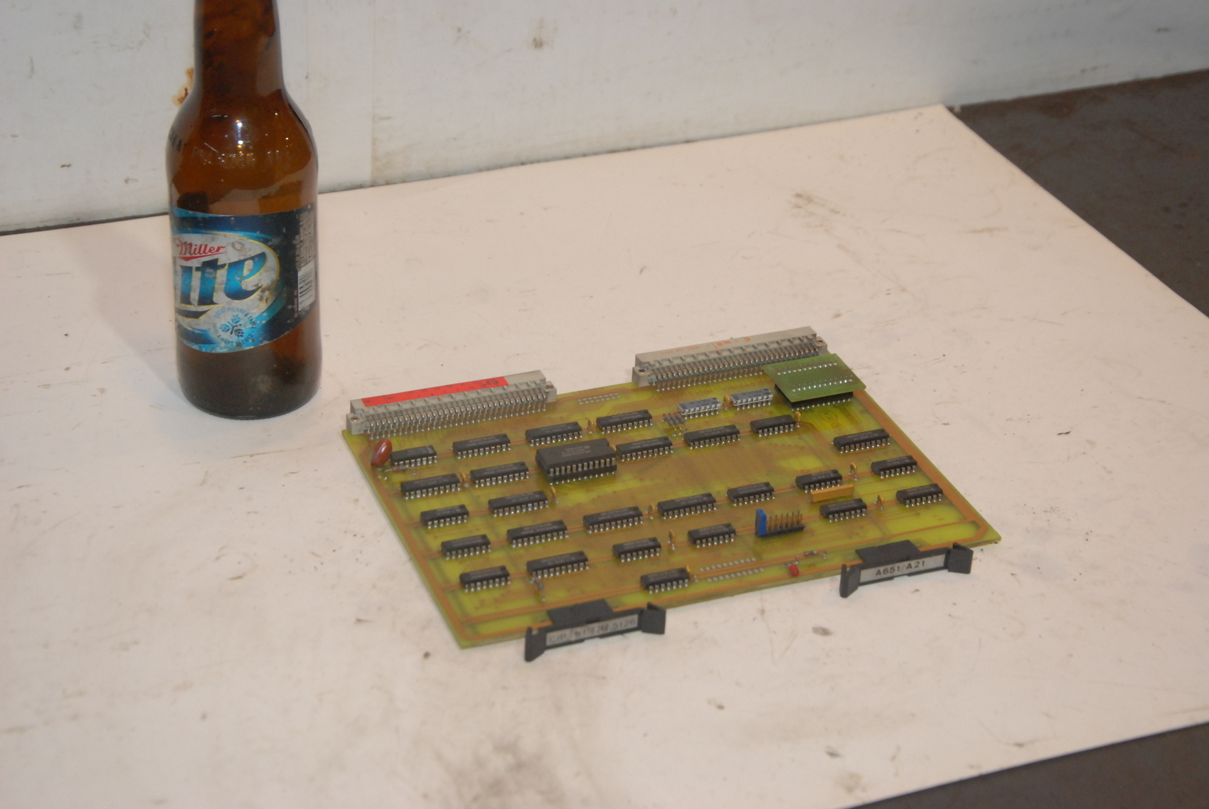 Speicherkarte 1196421 Lotseite Circuit Board