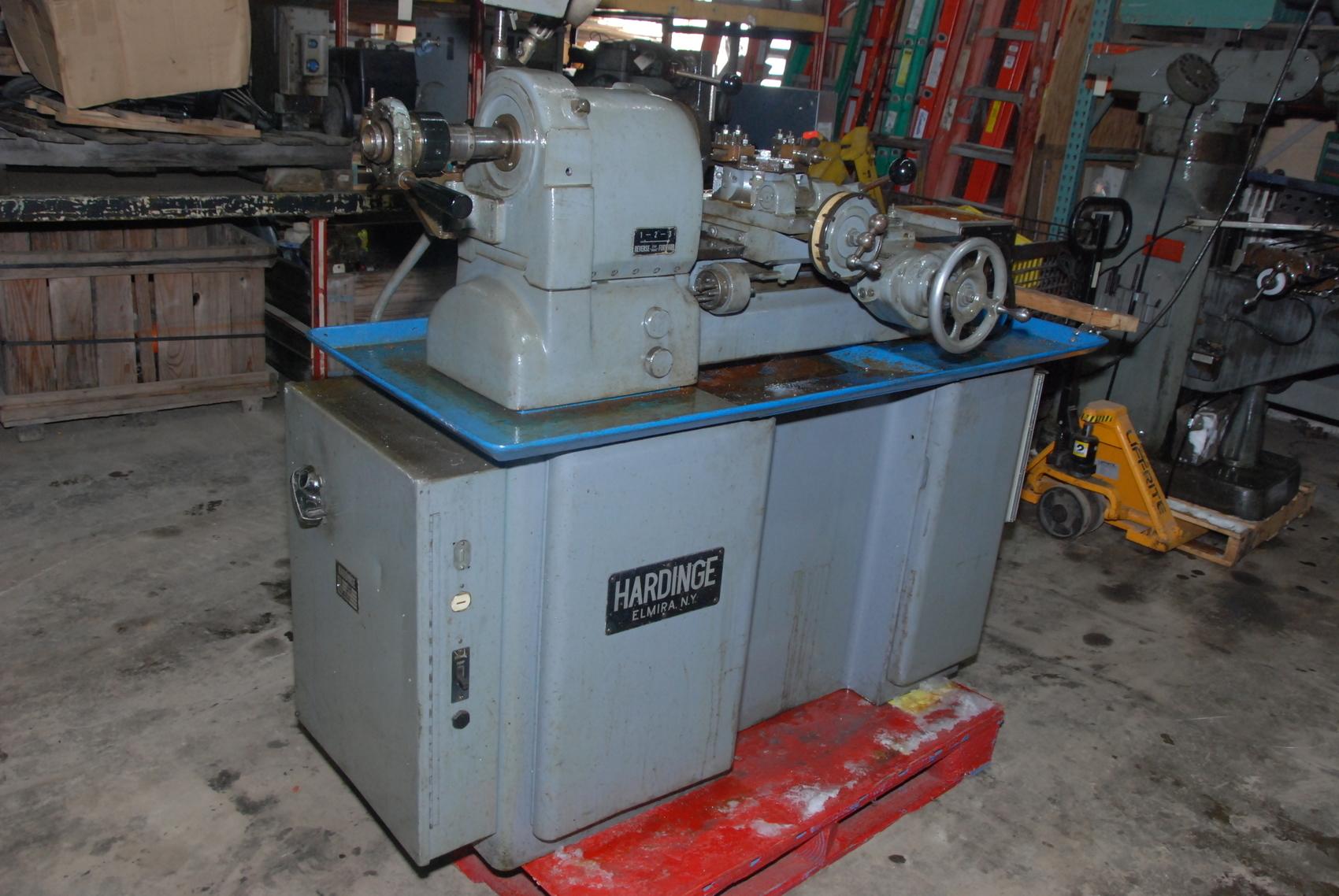 Hardinge HC Chucker Lathe Machine,220V,3PHASE
