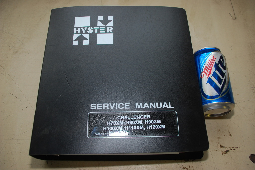 hyster service manual challenger h70xm h80xm h90xm h100xm and more rh algebra inc com Hyster H80XM Specs hyster h80 service manual