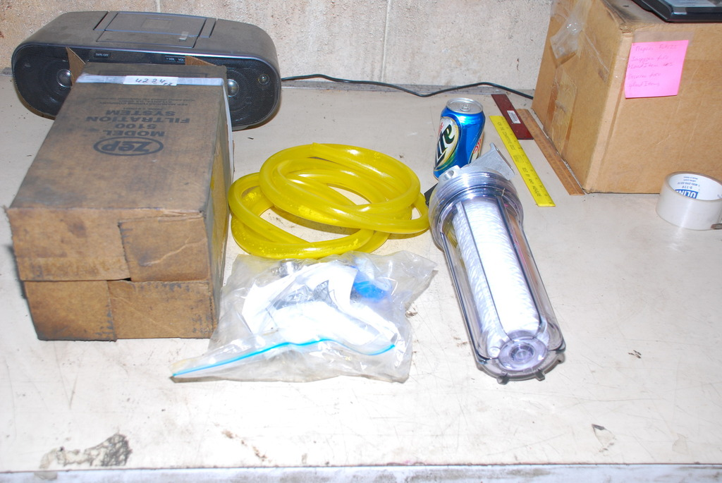 NEW, ZEP 5100 PARTS WASHER SOLVENT FILTRATION SYSTEM