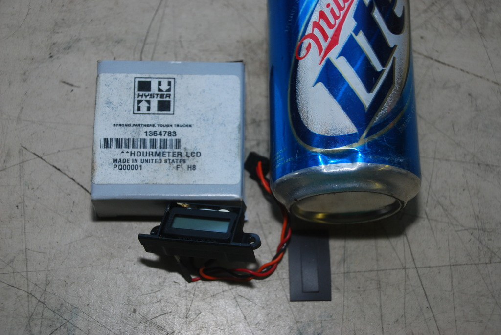 Hour Meter Made In Usa : New hyster forklift lcd hourmeter part no made
