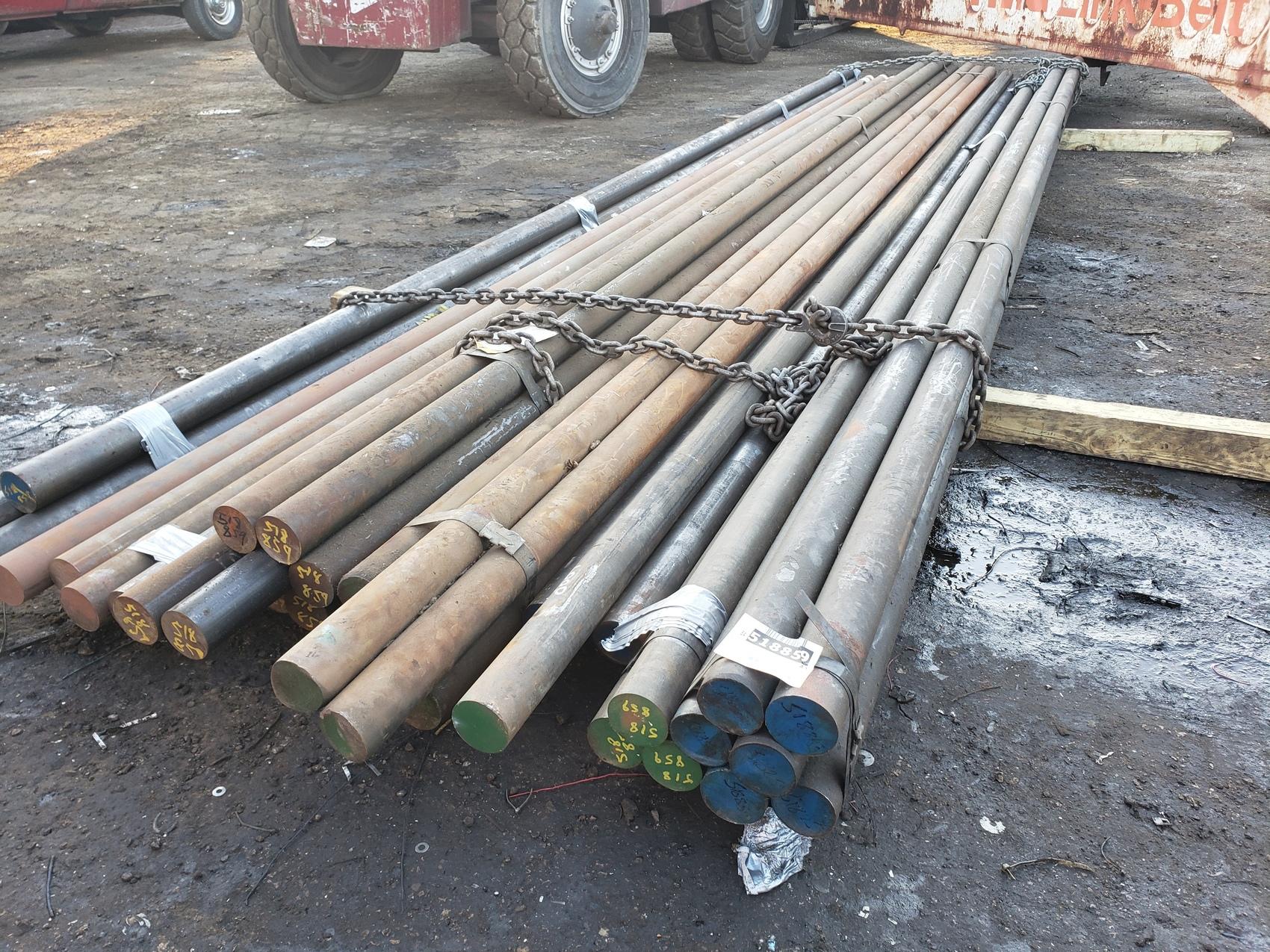 Huge lot of CR 1018 Shafts,20ft long,2 15/16 diameter