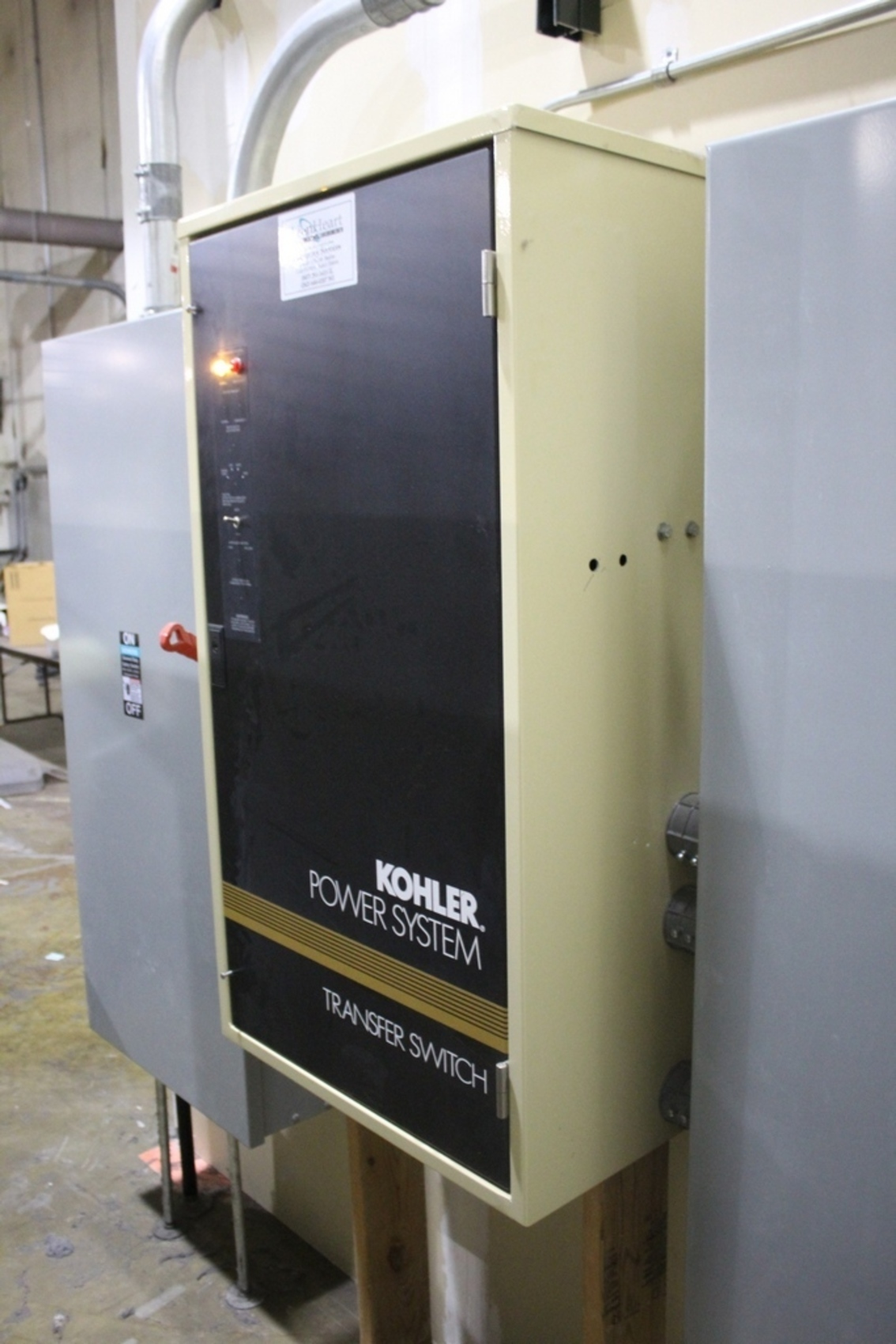 AUTOMATIC TRANSFER SWITCH,FOR KOHLER MODEL 100RZ 125 KVA GENERATOR